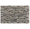 Sepino Global Ethnic 5'x8' Hand Tufted Gray Wool Ikat Area Rug