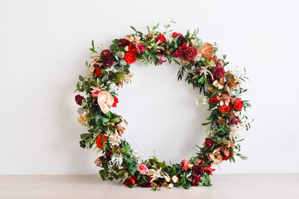 Giant Floral Wreath
