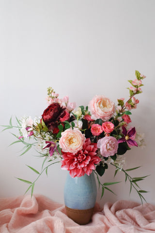 """Sabrine"" Bouquet in Nepal Vase"