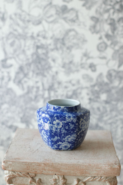 """Lydia"" Bouquet in Chinoiserie Ceramic Vase"