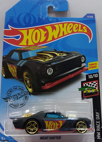 1:64 Scale Hot Wheels Night Shifter 12/250 Exclusive By Tiny Toes
