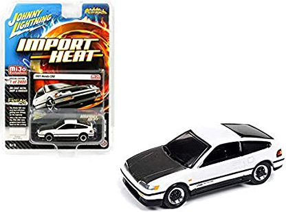 1:64 Scale Johnny Lightning Street Freaks Import Heat Honda CRX Limited Edition