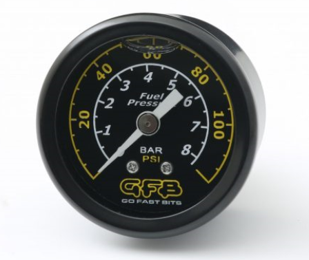 GFB 5730 FUEL PRESSURE GAUGE 40MM (1 1/2INCH)