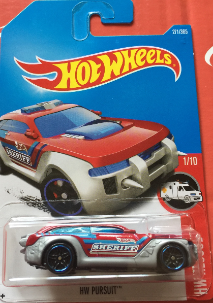 1:64 Scale Hot Wheels HW Pursuit Sheriff