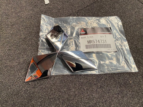 Genuine Japan Item, Mitsubishi Evolution Front Bar Badge