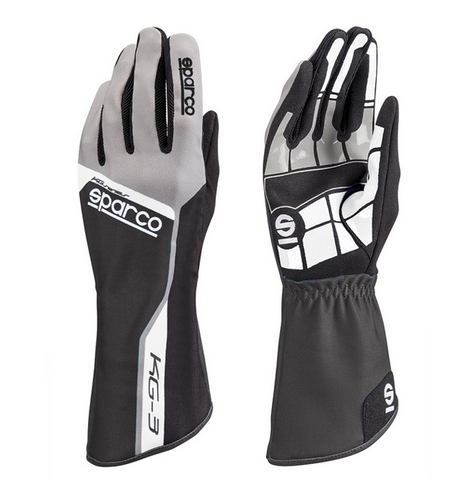 SPARCO TRACK KG-3 Gloves - Black