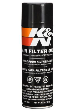 K&N Oil Filter Aerosol Can (193ML)
