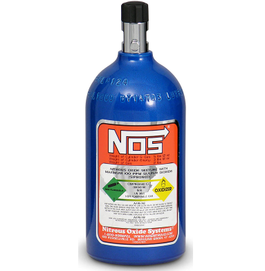 NITROUS OXIDE BOTTLE 2LB (ELECTRIC BLUE)