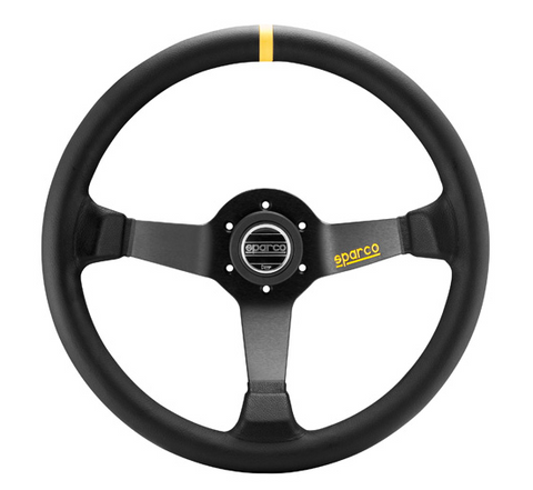 SPARCO R345 -350mm Steering Wheel Leather Or Suede