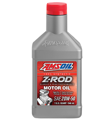 AMSOIL Z-ROD Synthetic Motor Engine Oil Synthetic 20W-50 (946ML)