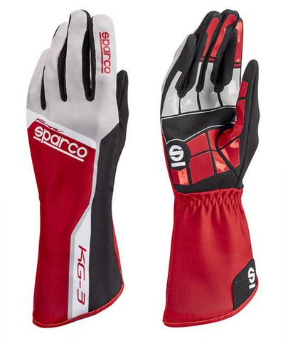 SPARCO TRACK KG-3 Gloves - Red