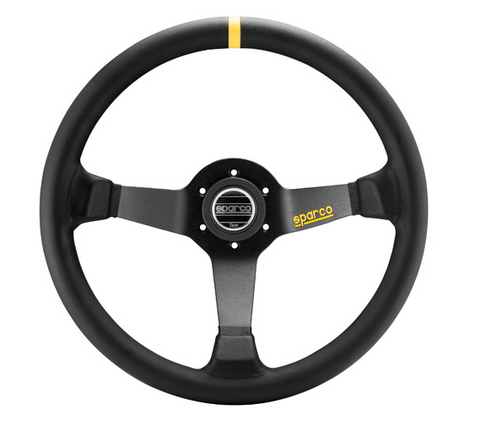 SPARCO R325 - 350mm Steering Wheel Leather Or Suede