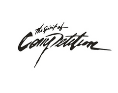 The Spirit Of Competition Sticker / Decal - White Or Black