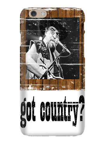 Waylon Jennings Got Country Distressed Phone Case