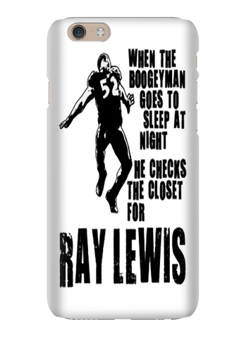 Ray Lewis Boogeyman Baltimore Football Phone Case