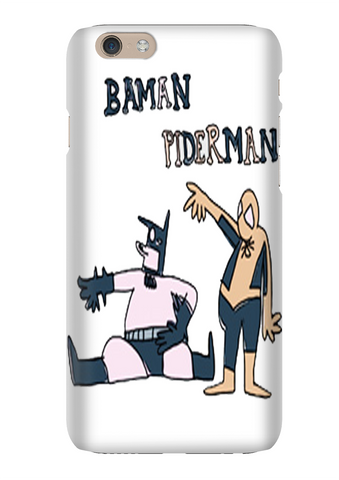Baman Piderman Internet Show Phone Case