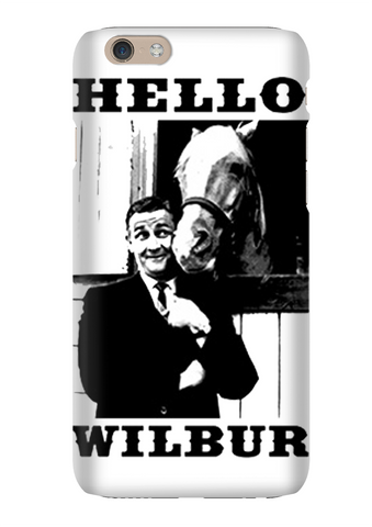 Wilbur Mr Ed Talking Horse Retro Phone Case