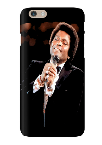 Charlie Pride Country Singer Phone Case