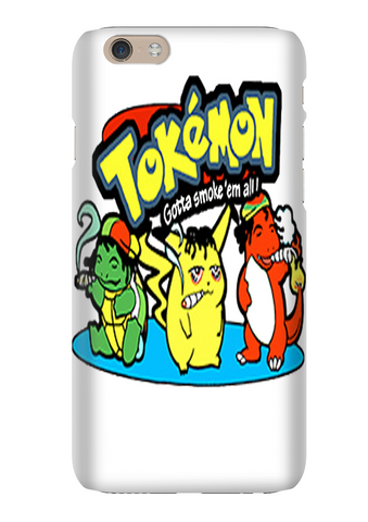 Tokemon Pokemon Parody Funny Phone Case