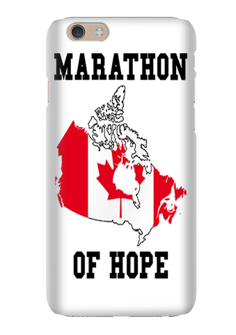 Terry Fox Marathon Of Hope Phone Case