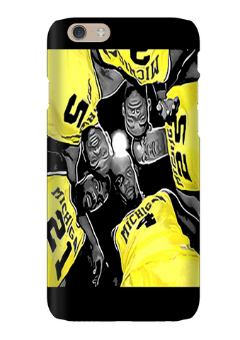 Fab Five Basketball Phone Case