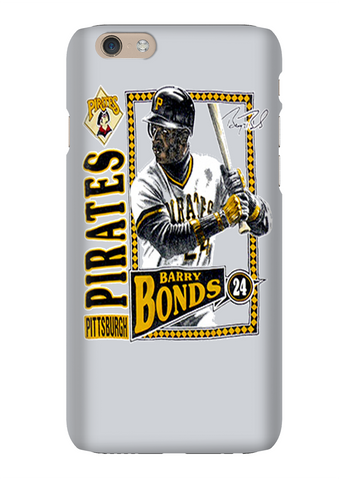 Barry Bonds Pittsburgh Baseball Phone Case