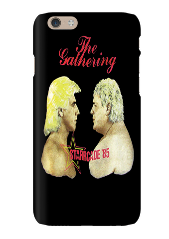 Ric Flair Vs Dusty Rhodes Wrestling Phone Case