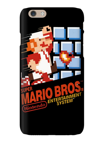 Super Mario Bros NES Video Game Phone Case