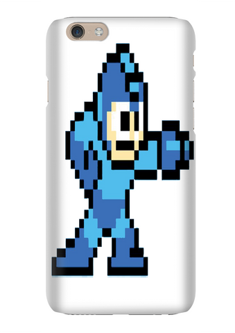 Mega Man NES 8 Bit Video Game Phone Case