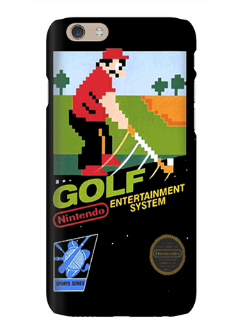Golf Classic Nintendo Video Game Phone Case