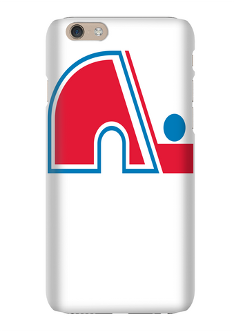 Quebec Nordiques Retro Hockey Phone Case