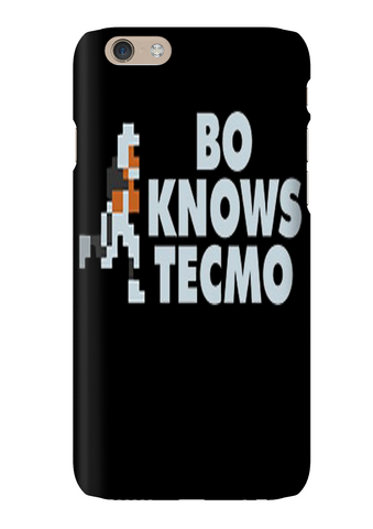 Bo Jackson Bo Knows Tecmo Bowl Video Game Phone Case