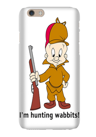 Elmer Fudd I'm Hunting Wabbits Cartoon Phone Case