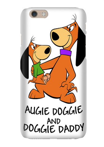 Augie Doggie And Doggie Daddy Cartoon Phone Case