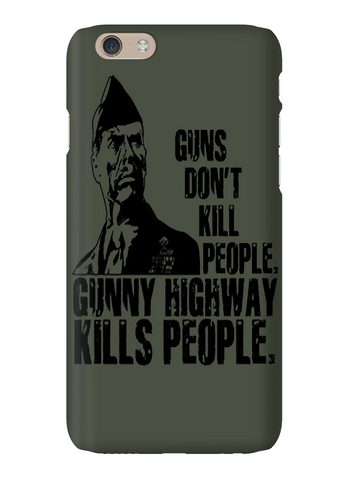 Heartbreak Ridge Eastwood Gunny Highway Phone Case