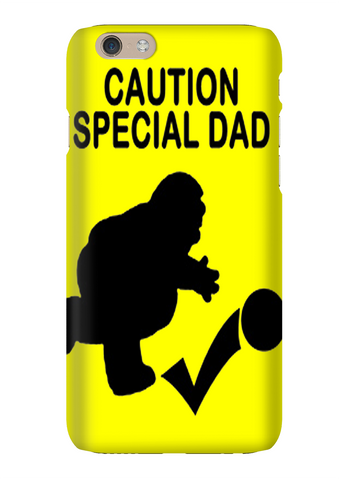 Caution Special Dad Funny Family Guy Phone Case