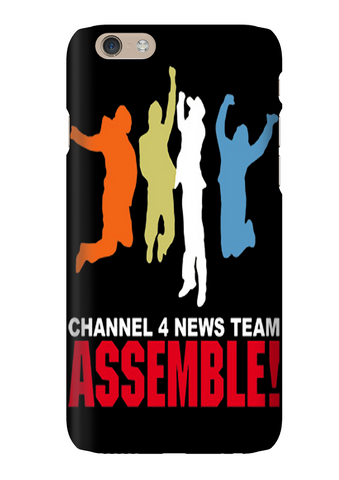 Anchorman Channel 4 News Team Phone Case