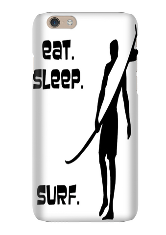Eat Sleep Surf Cycle Phone Case