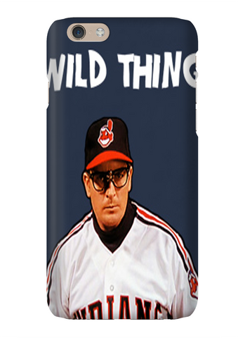 Wild Thing Rick Vaughn Cleveland Phone Case