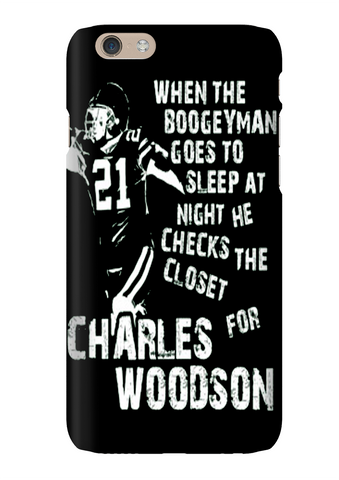 Charles Woodson Boogeyman Football Phone Case
