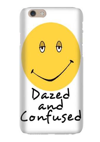 Dazed And Confused Smiley Face Phone Case
