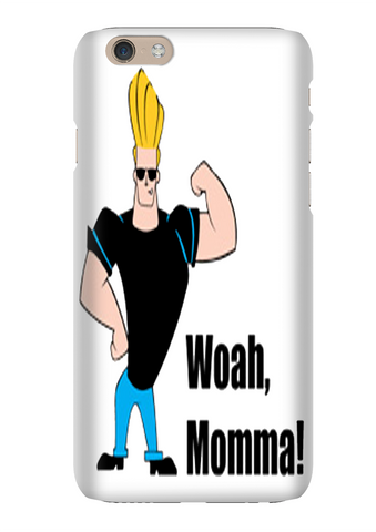 Johnny Bravo Woah Momma Phone Case