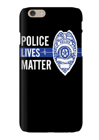 Police Lives Matter Support Police Phone Case