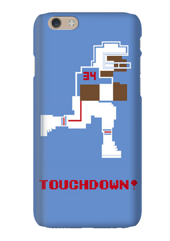 Earl Campbell 8 Bit Tecmo Bowl Phone Case