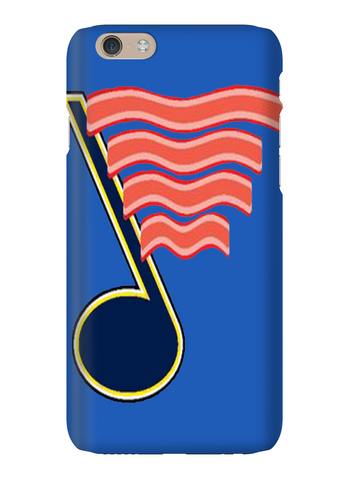 RoarBacon St Louis Hockey Blue Phone Case