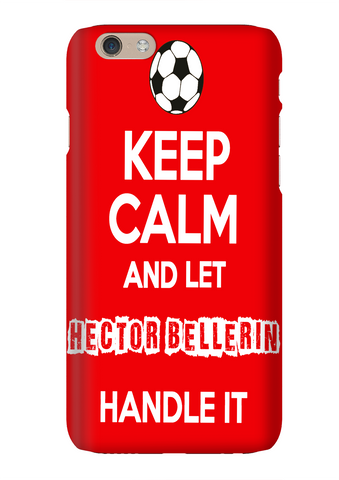 Keep Calm And Let Hector Bellerin Handle It Arsenal Soccer Phone Case