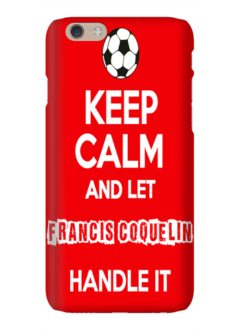 Keep Calm And Let Francis Coquelin Handle It Arsenal Soccer Phone Case