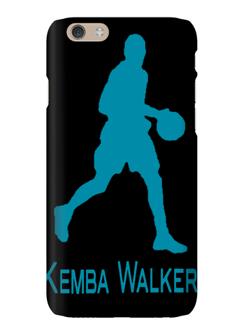 Kemba Walker Silhouette Charlotte Basketball Phone Case