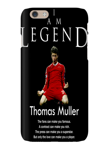 Thomas Muller I Am Legend Soccer Phone Case