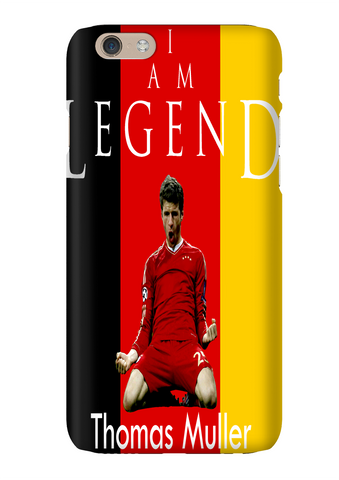 Germany Thomas Muller I Am Legend Soccer Phone Case